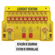 Master Lock 1483BP410 - Padlock Stations