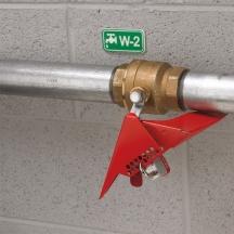 Master Lock S3477 - Wedge style ball valve lockout
